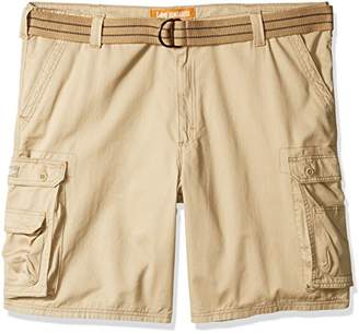 Lee Men's Big Tall Dungarees New Belted Wyoming Cargo Short