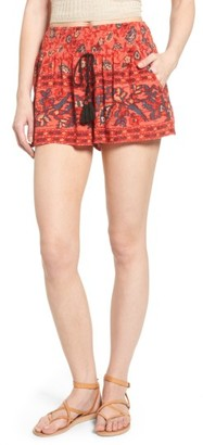 Women's Band Of Gypsies Smocked Shorts $55 thestylecure.com