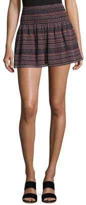 Joie Alphosine Geo Stripe Mini Skirt