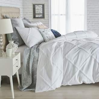 Peri Home Chenille Lattice Comforter Set, Twin