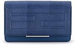 Fendi Women's Tube Elaphe & Leather Chain Wallet