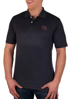 NCAA Auburn Tigers Men's Synthetic Embossed-Pattern Polo