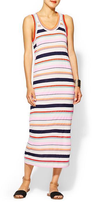 Marc by Marc Jacobs Smash Stripe Tank Maxi Dress