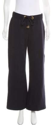 Tory Burch High-Rise Wide-Leg Sweatpants