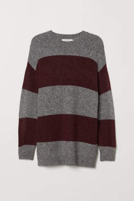 H&M Long Sweater - Red