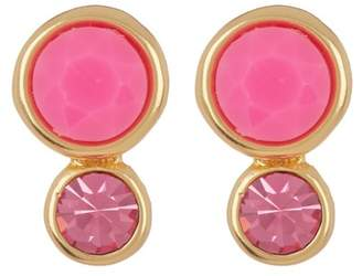 Trina Turk Double Stone Stud Earrings