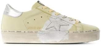 Golden Goose brushed hi star sneakers