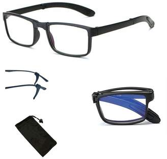 32cb4eabe3 clear Sunglasses Stop Shop Foldable Nearsighted Distance Driving Glasses  Vision UV Protection -3.0