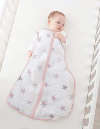Aden Anais Aden + Anais Aden by aden + anais Sleeping Bag 100% Cotton Muslin Shell and 100% Polyester Fill 2.5 TOG Doll 18-36 Months