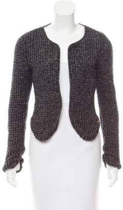 Maison Scotch Metallic Knit Jacket