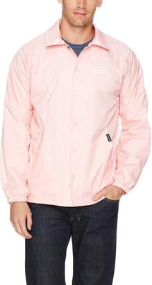 HUF Men's Bar Logo Coaches Jacket, L