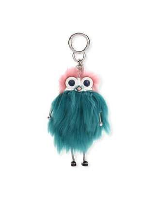 Fendi Teen Witch Mink/Alpaca Fur Charm for Handbag $750 thestylecure.com