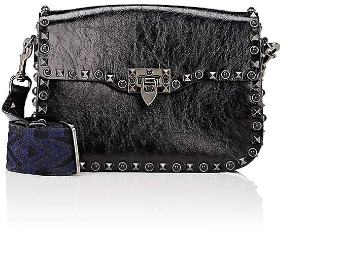 Valentino Garavani Women's Rockstud Rolling Leather Shoulder Bag