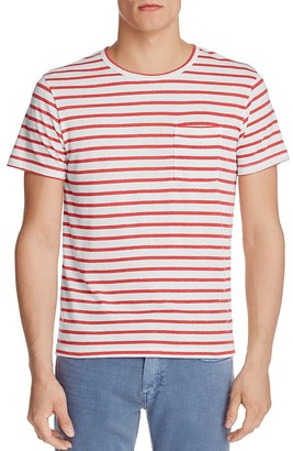 ALTERNATIVE Eco Jersey Striped Pocket Tee - 100% Exclusive $38 thestylecure.com