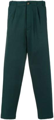 Societe Anonyme high waist crop tapered trousers