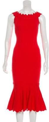 Jonathan Simkhai Jacquard Geometric Dress