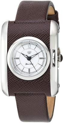Glam Rock Women's GR80002 Icon Analog Display Swiss Quartz Brown Watch
