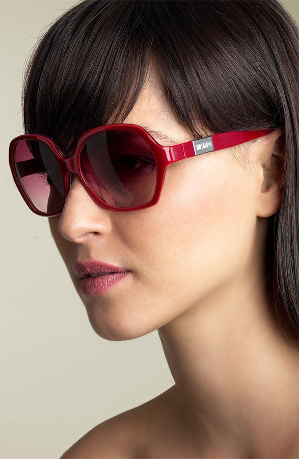 Karl Lagerfeld 'Oversized Glam' Sunglasses
