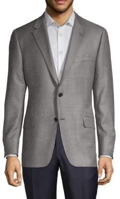 Hickey Freeman Milburn Houndstooth Sport Jacket