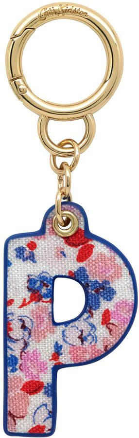 Mews Ditsy Bag Charm/Key Ring Initial Charm P