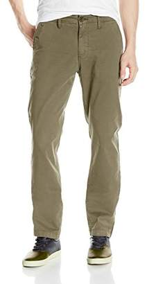William Rast Men's Kent Slim Straight Chino Pant