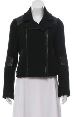 Vince Quilted Wool Jacket