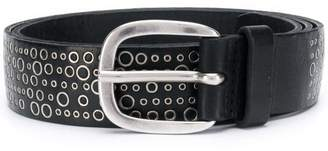 Orciani ring embellished belt