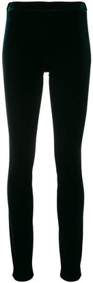 Haider Ackermann velvet-like leggings
