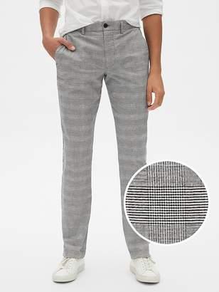 Gap Plaid Pants in Slim Fit with GapFlex