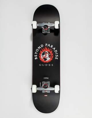 Globe Ablaze black skateboard - 7.75 inches
