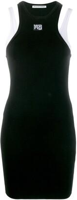 Alexander Wang Foundation layered dress