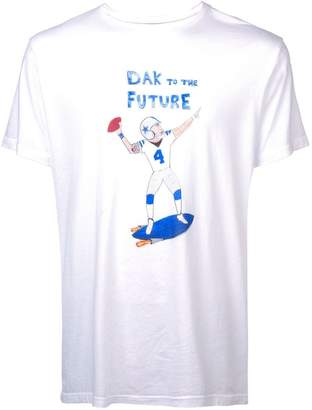 Unfortunate Portrait Dak to the Future T-shirt