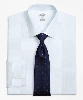 Brooks Brothers Regent Fitted Dress Shirt, Non-Iron Mini Pinstripe
