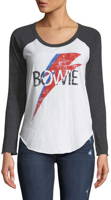 Chaser David Bowie Graphic Baseball Tee