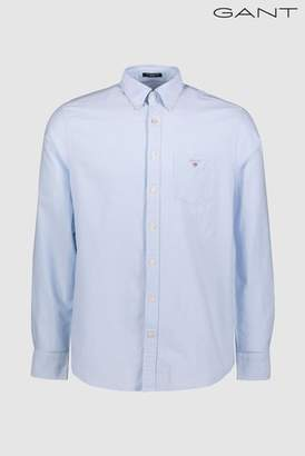 Next Mens GANT Plain Oxford Shirt