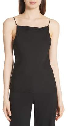Theory Cowl Back Silk Camisole