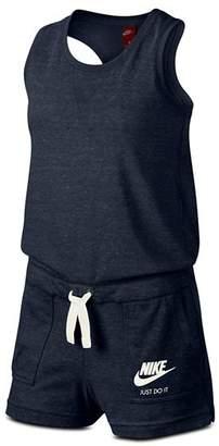 Nike Girls' Gym Vintage Romper - Big Kid