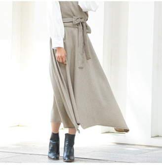 Mayson Grey (メイソン グレイ) - Socolla チドリ柄ボリュームスカート メイソングレイ スカート