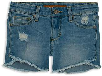 Joe's Jeans Girls' The Markie Denim Shorts in Blue - Big Kid