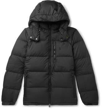 Polo Ralph Lauren Quilted Ripstop Hooded Down Jacket - Men - Black