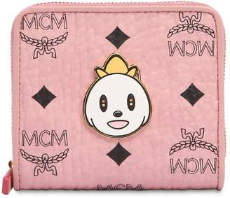 MCM Small Eddie King Zip Around Wallet