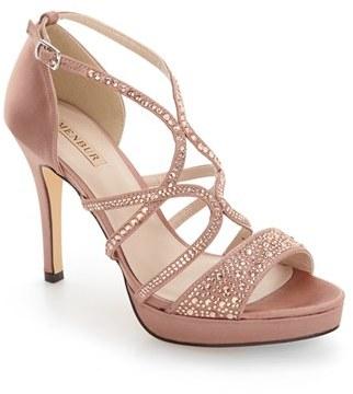 Women's Menbur Guadalope Crystal Embellished Sandal $124.95 thestylecure.com