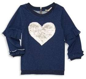 Little Girl's Sequin-Embellished Sweater