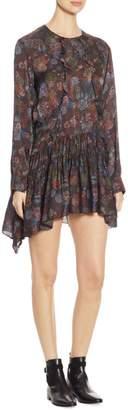IRO Ciamo Silk Long-Sleeve Dress