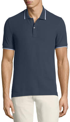 ATM Anthony Thomas Melillo Men's Tipping-Detail Polo Shirt