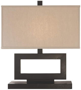 Visual Comfort & Co. Low Mod Table Lamp - Aged Iron