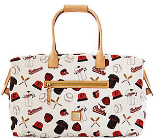 Dooney & Bourke MLB Orioles Duffel Bag
