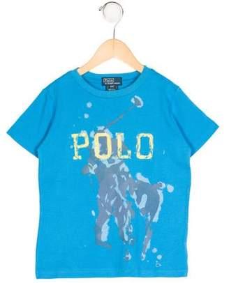 Polo Ralph Lauren Boys' Short Sleeve Logo Print Shirt w/ Tags