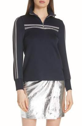 BA&SH Tamara Half-Zip Top