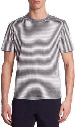 Saks Fifth Avenue Striped Short Sleeve Tee